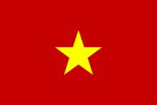 Fahne VR Vietnam