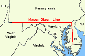 Mason-Dixon Linie